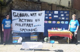 A GDAMS campaign stall